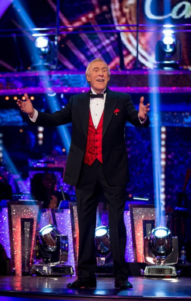 Sir Bruce Forsyth Strictly Come Dancing