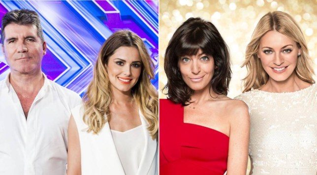 Programme Name: Strictly Come Dancing  - TX: 07/09/2014 - Episode: Generics (No. n/a) - Picture Shows:  Claudia Winkleman, Tess Daly - (C) BBC - Photographer: Ray Burmiston