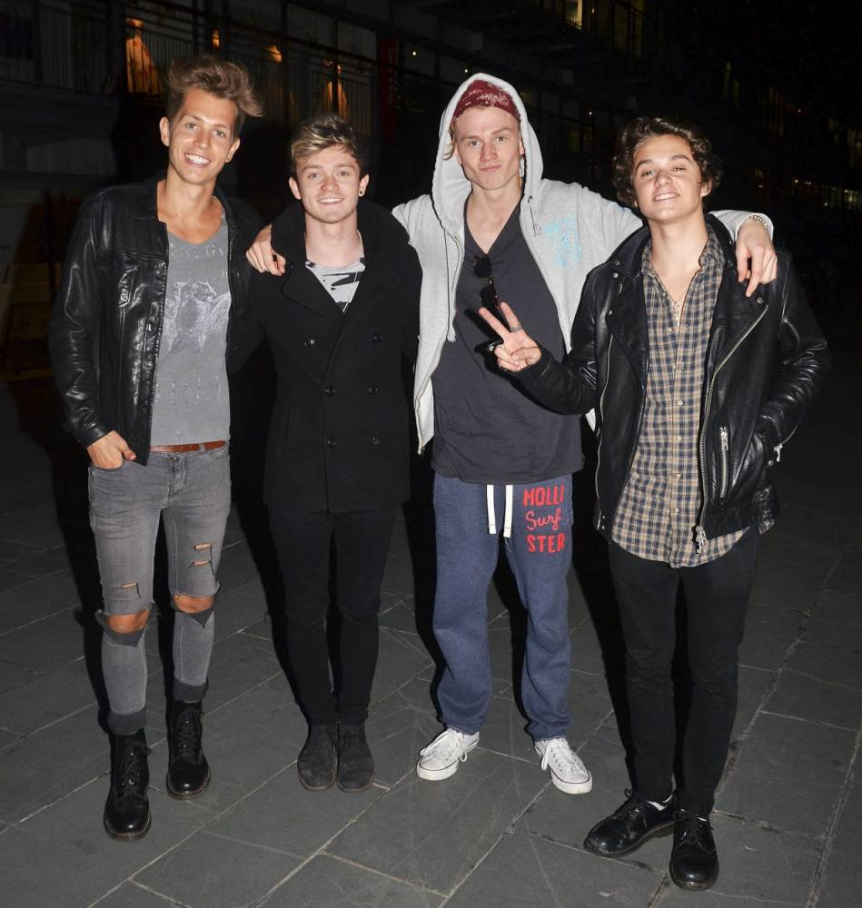 Picture Shows: James McVey, Connor Ball, Tristan Evans, Bradley Simpson, Brad Simpson, The Vamps  September 09, 2014: September 08, 2014    Celebrities attend the Destiny launch at OXO2 in Oxo Tower Wharf in London, UK.    Non-Exclusive  WORLDWIDE RIGHTS    Pictures by : FameFlynet UK © 2014  Tel : +44 (0)20 3551 5049  Email : info@fameflynet.uk.com