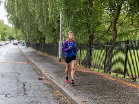 In it for the long run: Woman runs 35 marathons in 35 days in fundraising challenge