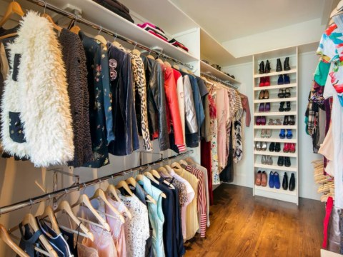Sarah Jessica Parker's New York house is for sale, and obviously the wardrobe is HEAVEN