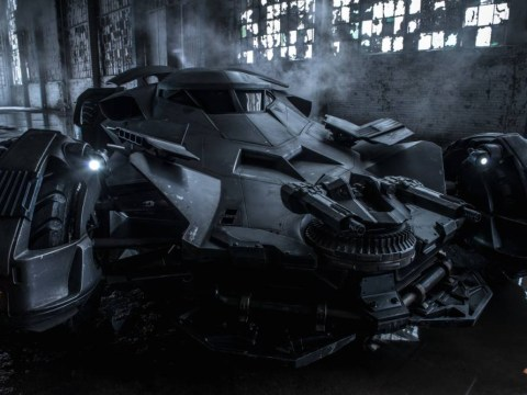 Batman vs Superman: The new Batmobile looks awesome