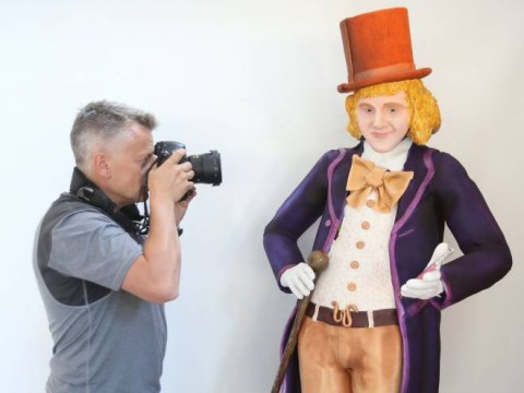 If a life-size, edible Gene Wilder doesn't scare you then frankly nothing will