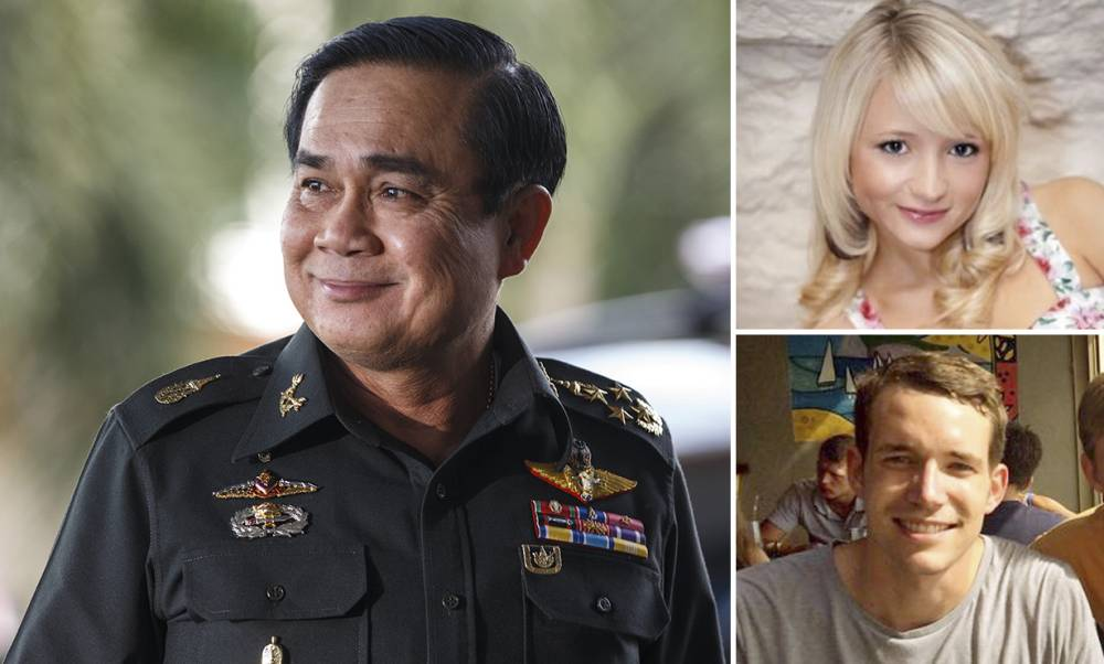 Thai police release all suspects in beach killing of British backpackers after DNA tests rule them out