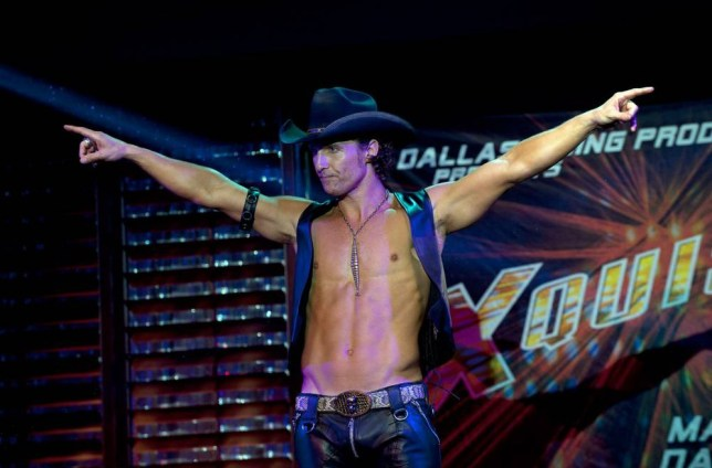 Magic Mike: Matthew McConaughey