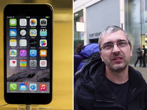 Heartbroken husband waits nearly two days in iPhone 6 queue so he can win his wife of 20 years back
