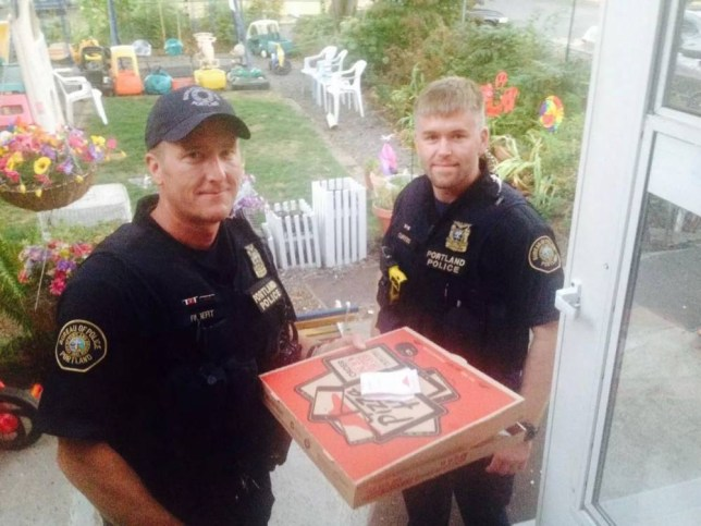 'Community policing at its finest!', the contented user said (Picture: Reddit)