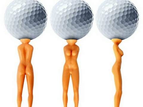 Does this naked lady golf tee promote violence against women?