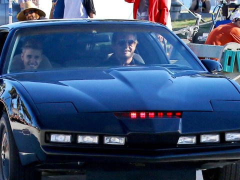 It's Hoff-icial: Justin Bieber, David Hasslehoff and the Knight Rider car are appearing in the same video