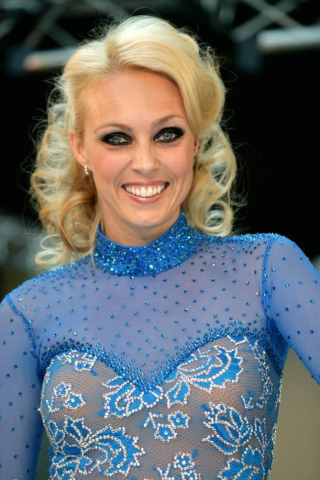 Mandatory Credit: Photo by Geoffrey Swaine/REX (1012302e).. Camilla Dallerup.. Camilla Dallerup Transformed into a Glamorous Screen Siren Live on the Catwalk at Festival Place in Basingstoke as Part of Their Fashion Event, Basingstoke, Britain - 04 Oct 2009.. Strictly Come Dancing Winner..
