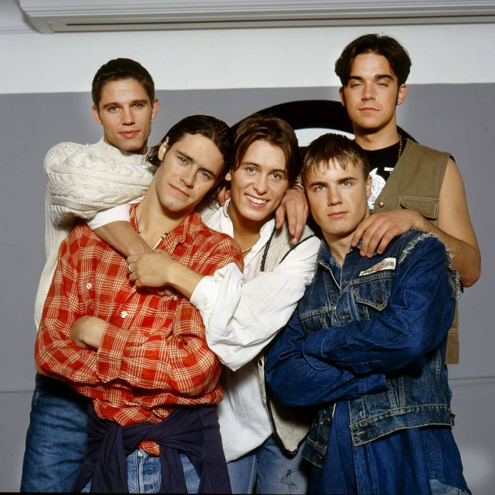 This is what Take That will look like without Jason Orange