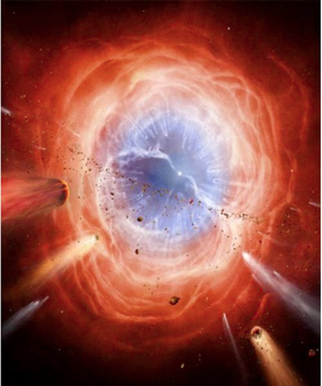27 Feb 2013 --- An artist's illustration shows a supermassive black hole with millions to billions times the mass of our sun at the center, surrounded by matter flowing onto the black hole in what is termed an accretion disk in this NASA illustration released on February 27, 2013. Supermassive black holes are enormously dense objects buried at the hearts of galaxies. This disk forms as the dust and gas in the galaxy falls onto the hole, attracted by its gravity. Also shown is an outflowing jet of energetic particles, believed to be powered by the black hole's spin. The regions near black holes contain compact sources of high energy X-ray radiation thought, in some scenarios, to originate from the base of these jets. This high energy X-radiation lights up the disk, which reflects it, making the disk a source of X-rays. The reflected light enables astronomers to see how fast matte --- Image by    NASA/Reuters/Corbis