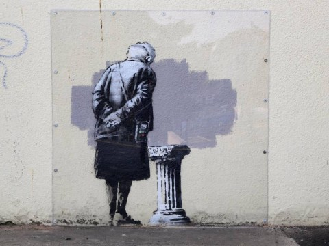 New Banksy mural appears in Kent, may cause you to think about stuff