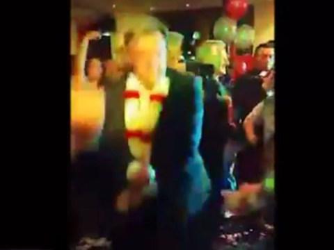 Op, op, op, oppa Ed Balls-style: Shadow chancellor caught dancing Gangnam Style
