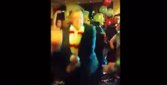 Ed Balls: MP; campaigner; dancer (Picture: YouTube)