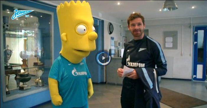 Zenit St Petersburg make huge transfer deadline day coup – by signing Bart Simpson