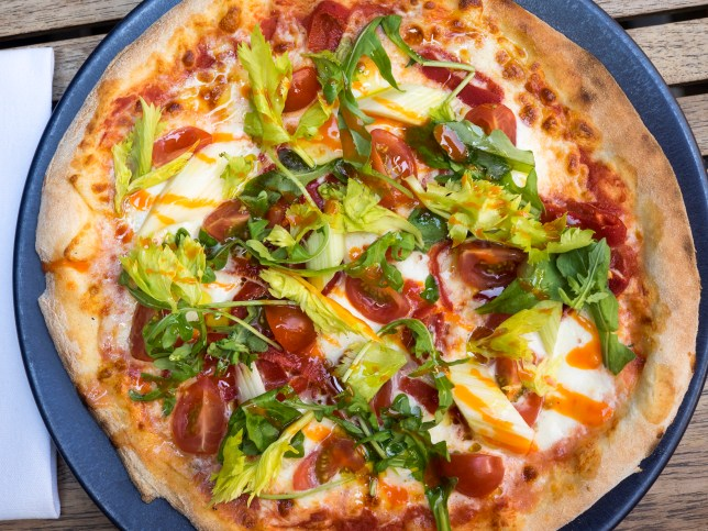 Bloody Mary pizza, Bloody Mary, Pizza, Hangover cures, Hybrid foods, Best pizza in London, Mayfair Pizza co., Michael Lecouteur, Bloody Mary recipe, Pizza recipe