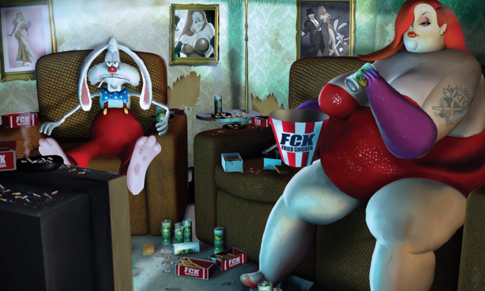 Roger and Jessica Rabbit Where Are They Now cartoon