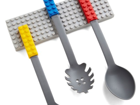 This set of Lego kitchen utensils is the best way to prepare food EVER