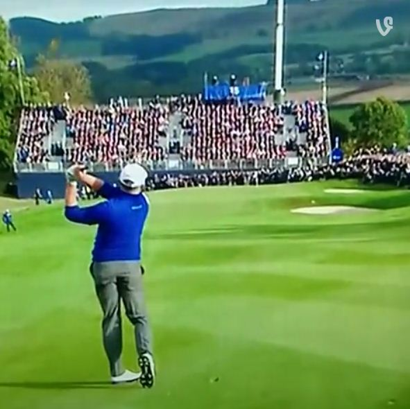Jamie Donaldson's incredible iron shot wins Ryder Cup 2014 for Europe