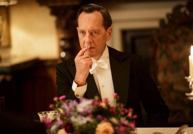 Downton Abbey season 5: Richard E Grant plays Simon Bricker