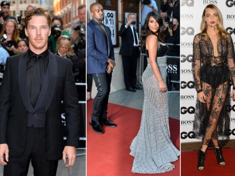 GQ Men of the Year Awards 2014 fashion: What they wore from Kim Kardashian to Benedict Cumberbatch