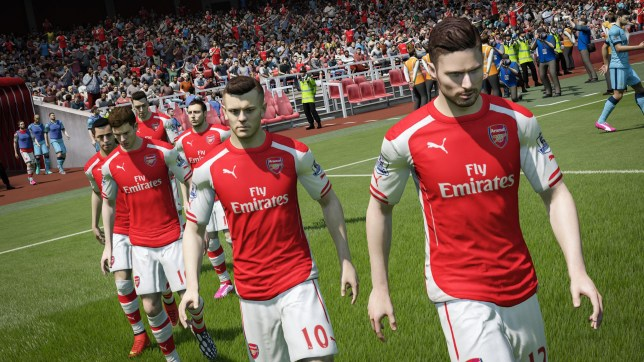 FIFA 15 - it certainly looks the part