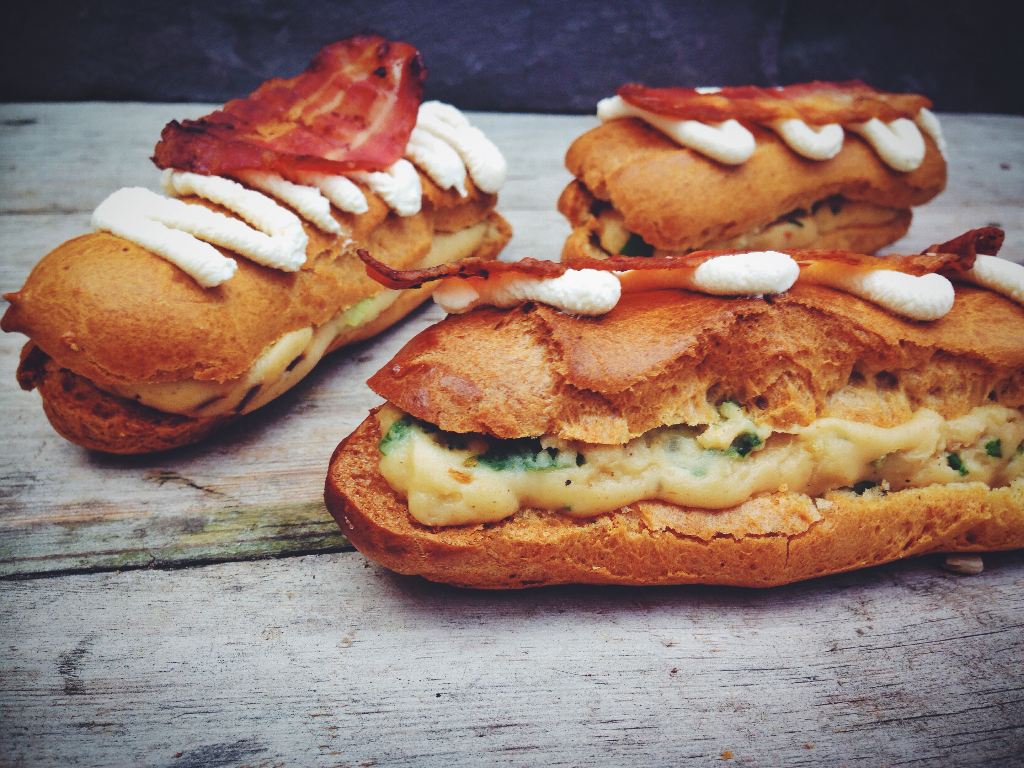 Great British Bake Off recipe: Mushroom, cheese and bacon eclairs, oh yes!