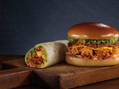 KFC launch new BBQ pulled chicken range, and it's lower in calories than its traditional menu