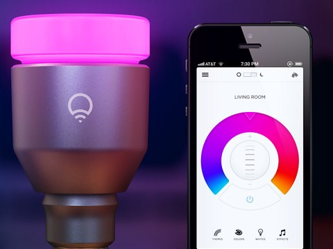 The LIFX isn't like any light bulb you've ever known before