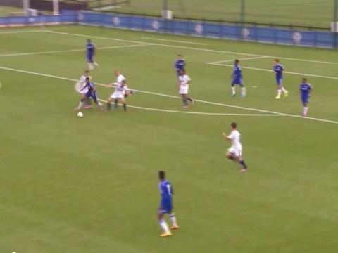 Chelsea starlet Ruben Loftus-Cheek creates goal with unbelievable power run against Schalke in Uefa Youth League