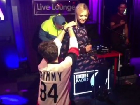 Fearne Cotton getting twerked on by Nick Grimshaw is the most awkward thing you'll see today
