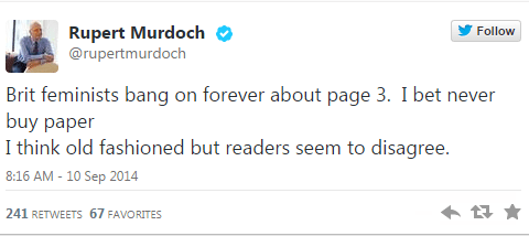Is this the end of Page 3 as we know it?