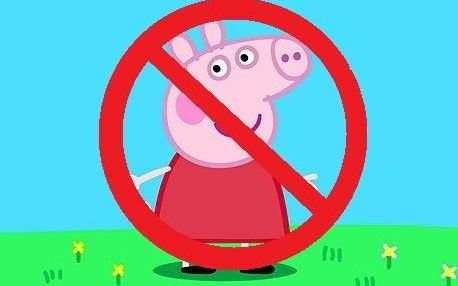 Peppa pig is seen as an insult to some