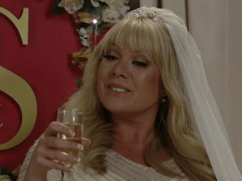 EastEnders: Shirley drops killer bombshell at Phil and Sharon's wedding