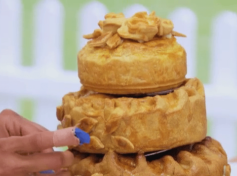 The Great British Bake Off 2014, episode 5: Who had a pie fail and went home?