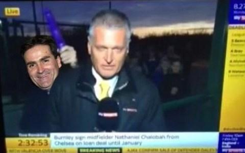 Richard Keys given Sky Sports News dildo photoshop treatment