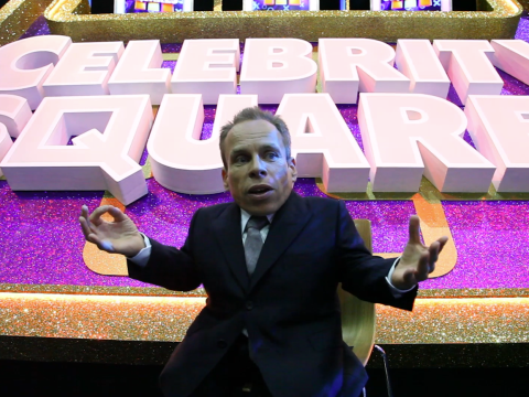 Exclusive: New host Warwick Davis spills the beans as Celebrity Squares returns to ITV