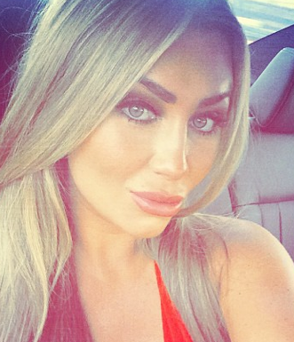 All time low? Lauren Goodger sucks up to her bad boy ex Jake McLean after he calls her a 'tramp' on her birthday