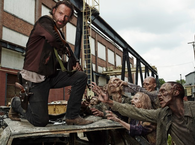Andrew Lincoln as Rick Grimes - The Walking Dead _ Season 5, Gallery