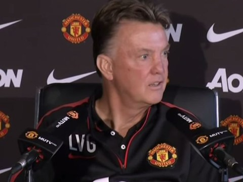 Louis van Gaal mocks journalists during Manchester United press conference