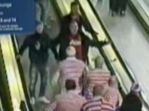 Where's Wally stag party clashes with Manchester United fans in vicious fight