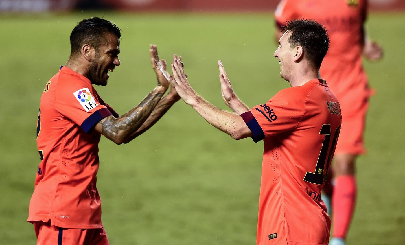 Barcelona star Dani Alves confirms he will play in England next season, alerting Manchester United and Liverpool