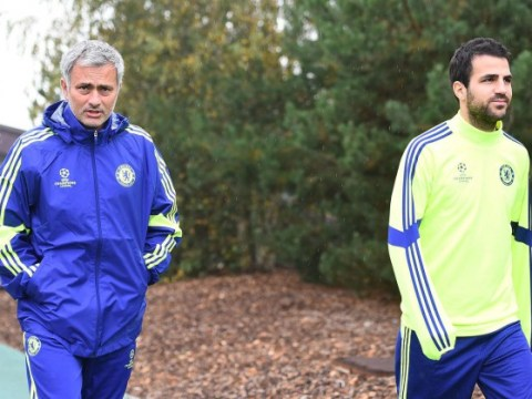 Cesc Fabregas could succeed John Terry as Chelsea captain, hints Jose Mourinho