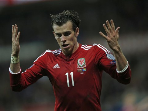 Gareth Bale outpaced by Everton's Muhamed Besic during Wales' draw with Bosnia, doesn't look impressed