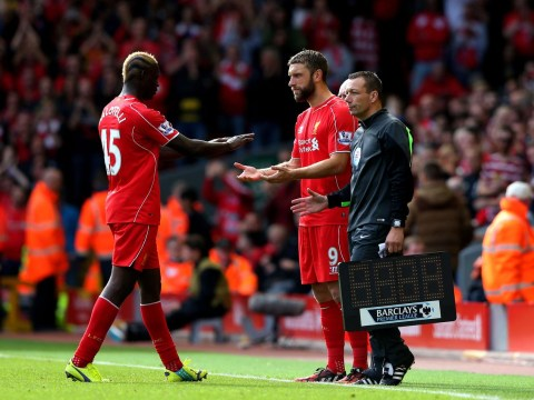 Will Rickie Lambert replace Mario Balotelli in Liverpool team to play West Bromwich Albion?