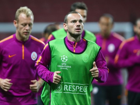 Galatasaray and Holland star Wesley Sneijder reveals why he turned down Manchester United move in summer