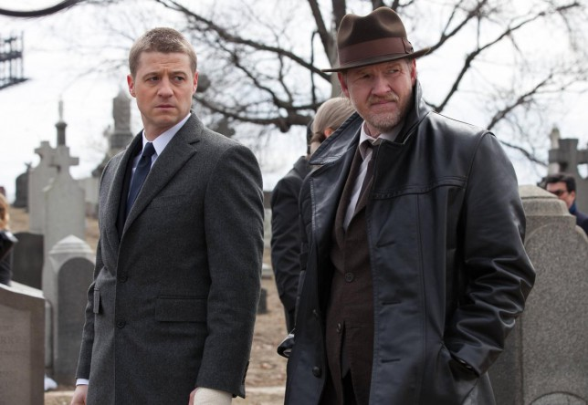 Gotham:  Ben McKenzie and Donal Logue