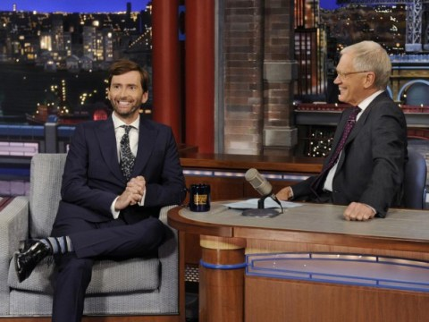 David Tennant on Late Show: Tennant tells David Letterman 'I'm a very bad Scotsman'