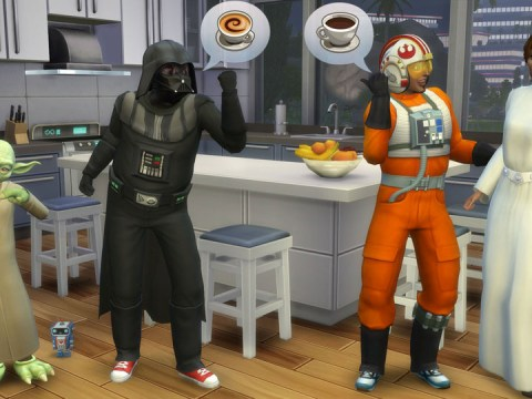 Free pools, ghosts, and Star Wars costumes for The Sims 4